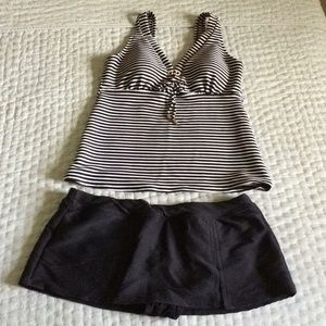 Lands End Tankini Size 12